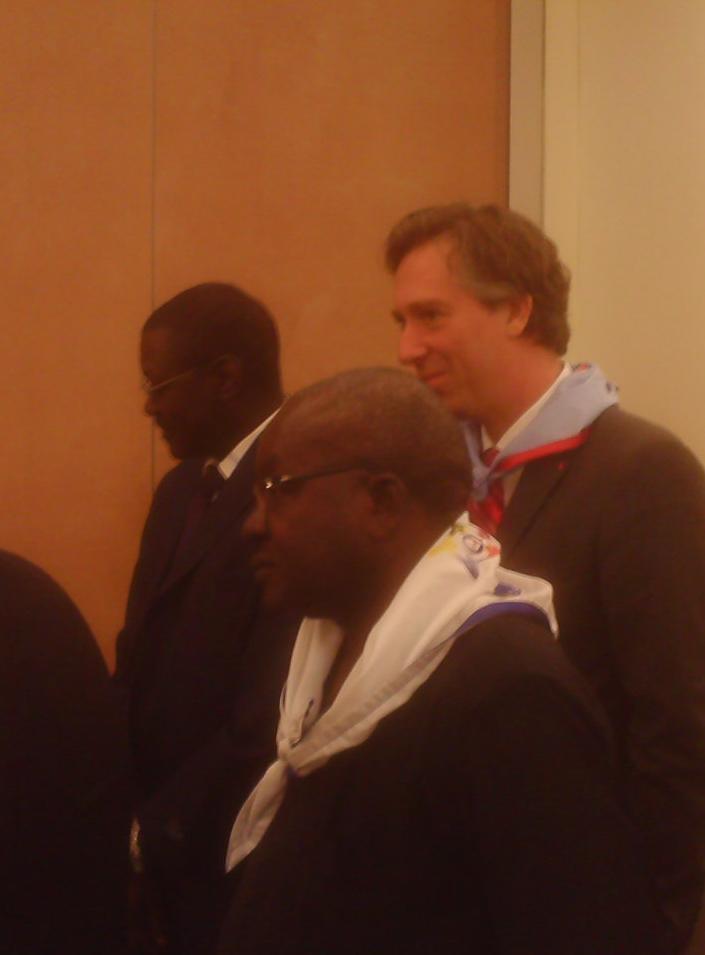 Ousmane Diadié Haidara, Banque mondiale - Dimitri Verdonck, ACP