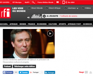 RFI Djibouti Dimitri Verdonck